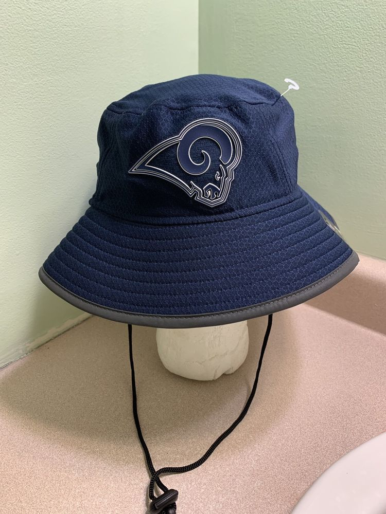 New Era Men s LOS ANGELES RAMS Sideline Training Camp Bucket Hat NFL OSFA   NewEra  LosAngelesRams 2c4d82a3968