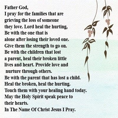 Prayer for grieving friend