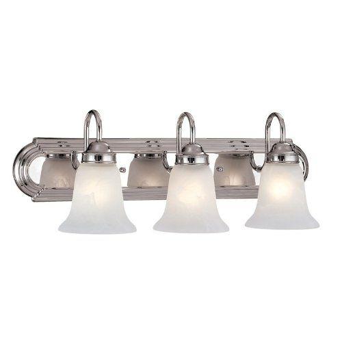 Best Bathroom Light Fixtures 3 Light Bath Vanity Light Finish