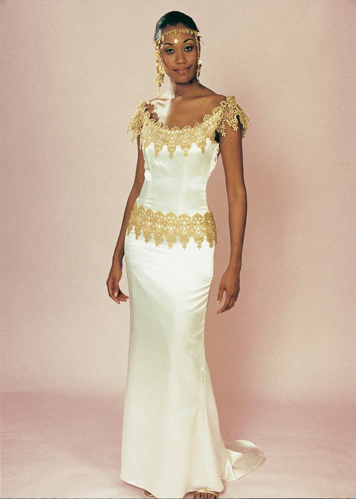 9a5b539a8fd The ultimate in African wedding gowns and ethnic bridal dresses was on  display in New York City during the annual bridal showcase that is hosted  by Circle ...