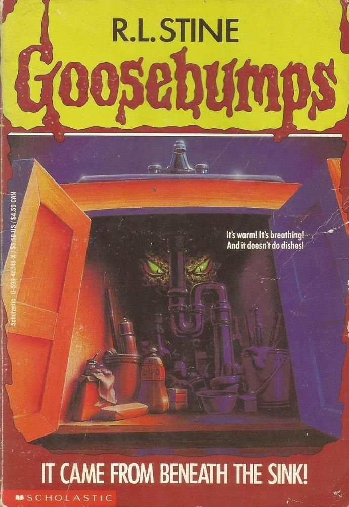 Goosebumps 30 It Came From Beneath The Sink By R L