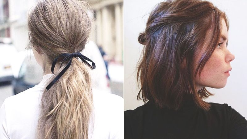 5 Messy Hairstyles For Girls Who Don T Have Time To Style Hair Easy Messy Hairstyles Ponytail Hairstyles Easy Messy Bob Hairstyles