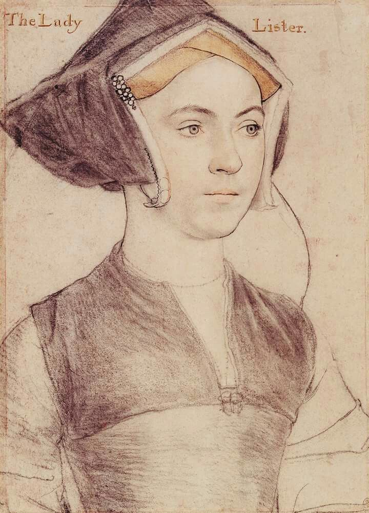 I\'m fascinated with Hans Holbein\'s sketches of the Tudor women. This ...