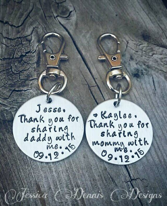 Wedding Gift For Kids Thank You Sharing Mommy Daddy With Me Including Children Blended Fam