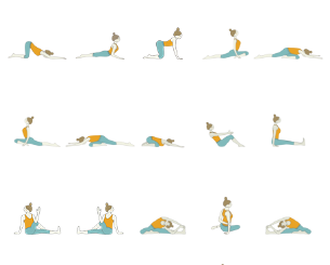 gentle yoga sequence beginner yoga sequence in gentle