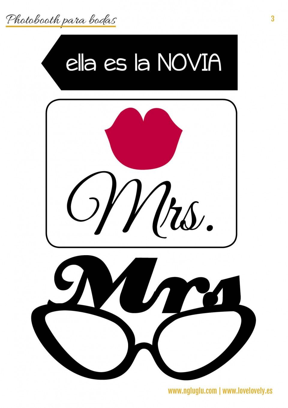 Un Photobooth Imprimible Para Tus Parties Love Lovely
