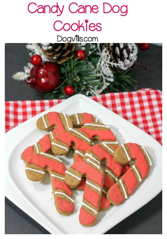 Candy Cane Cookies Recipe Pets Dog Treats Dogs Dog Treat Recipes
