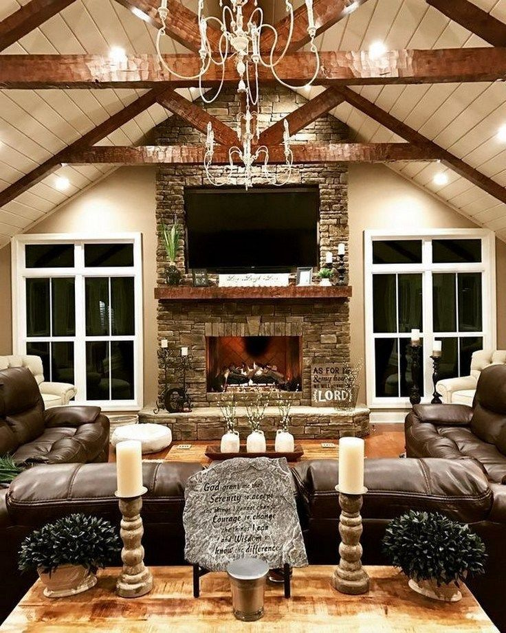 Photo of ✔42 farmhouse living room design and decor ideas for your house 35 ~ aacmm.com