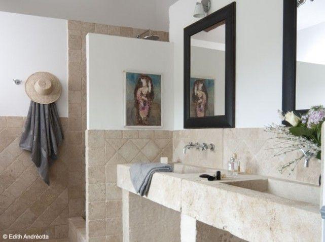 Salle de bain provencale maison provencales pinterest for Decoration maison provencale