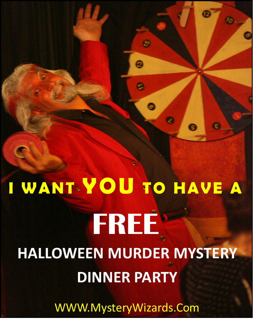 freee! free! free! great halloween murder mystery dinner party