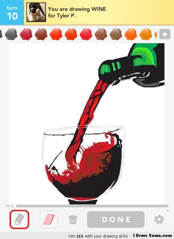 Draw Something Wine Draw Something Drawings Of Friends