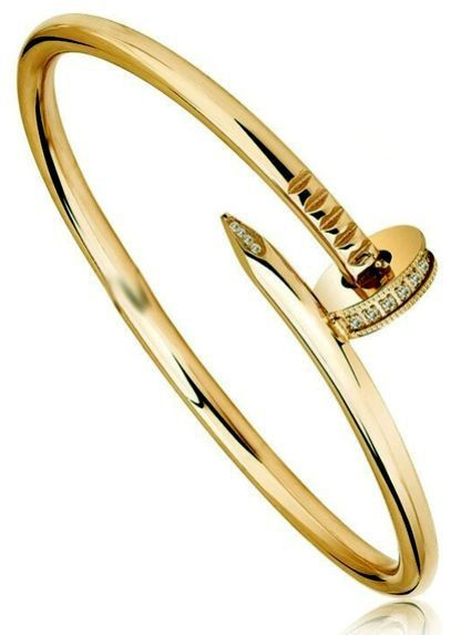 7c1aa443de1 18k Gold Adjustable Crystal Nail Screw women Bracelets Bangles Open Cuff  Snag Spike Bangles price, review and buy in UAE, Dubai, Abu Dhabi | Souq.com