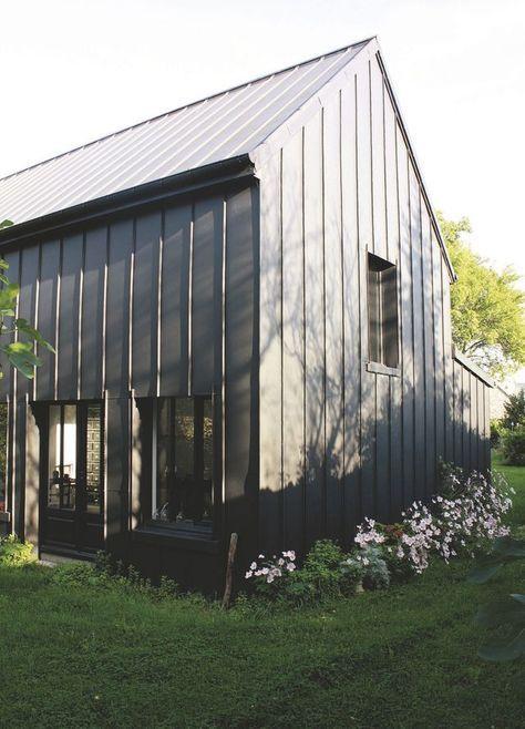 Bardage zinc, couleur, inox  les alternatives au bardage bois - maison bardage bois couleur