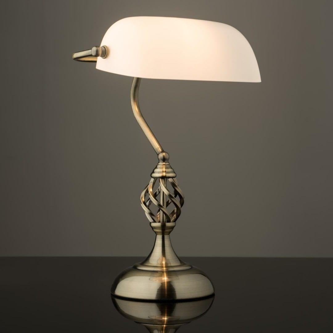 pewter barley twist bedside table lamps