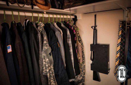 shotlock ar15 quick access rifle vaultgun safe