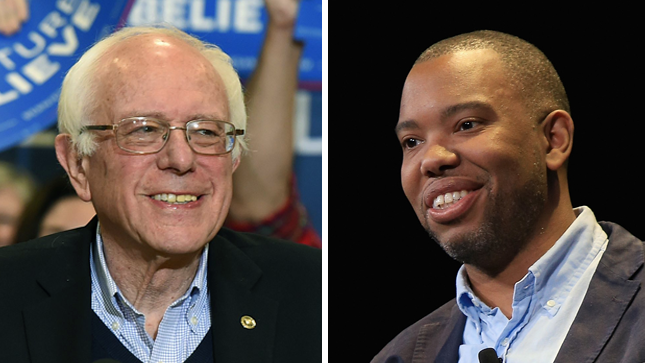 "Ta-Nehisi Coates said he was ""pleasantly stunned"" by his New Hampshire finish."
