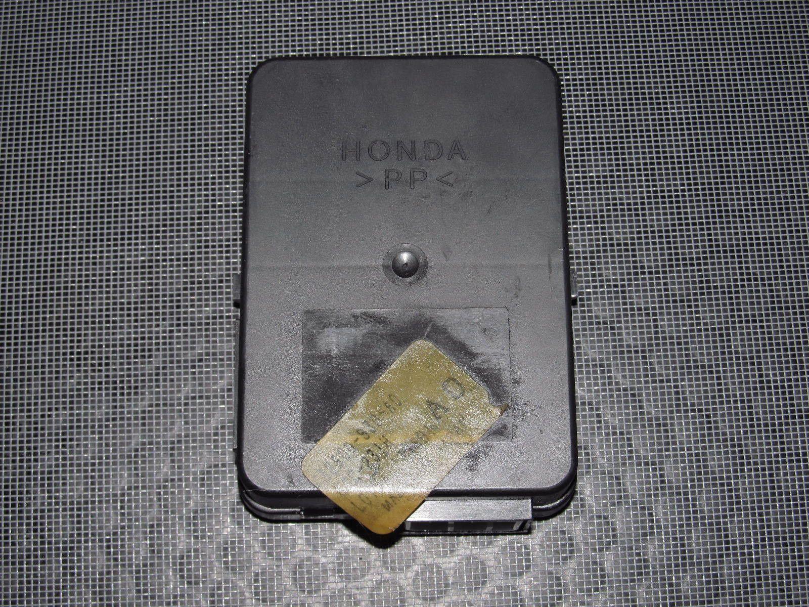 hight resolution of 97 01 honda prelude oem 38800 s30 a0 fuse box integration control unit