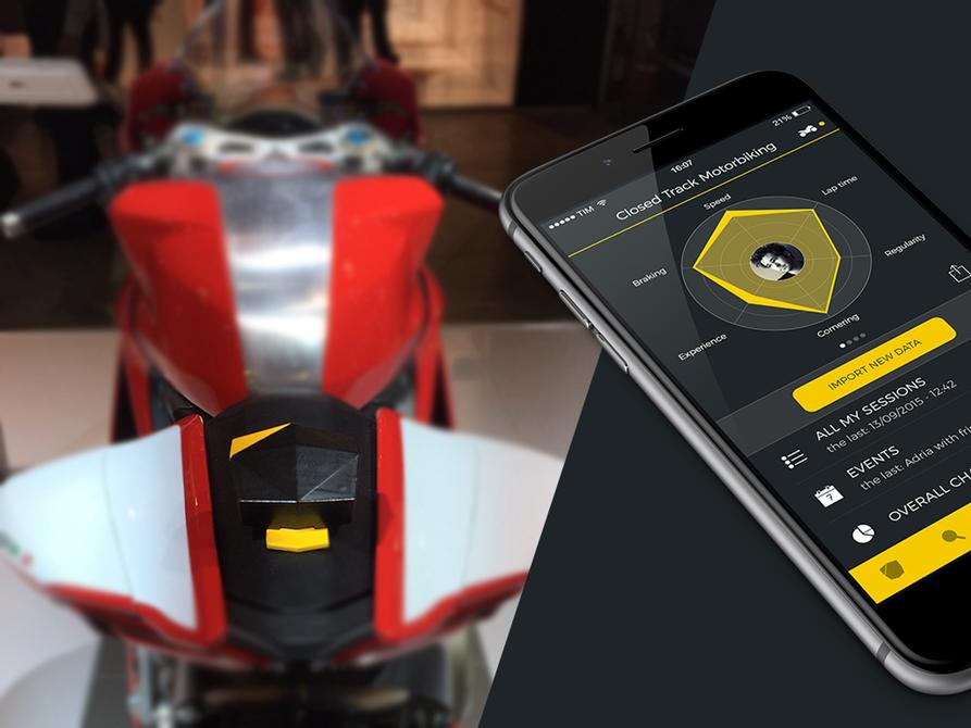Simple device tracks motorsport performance Tracking