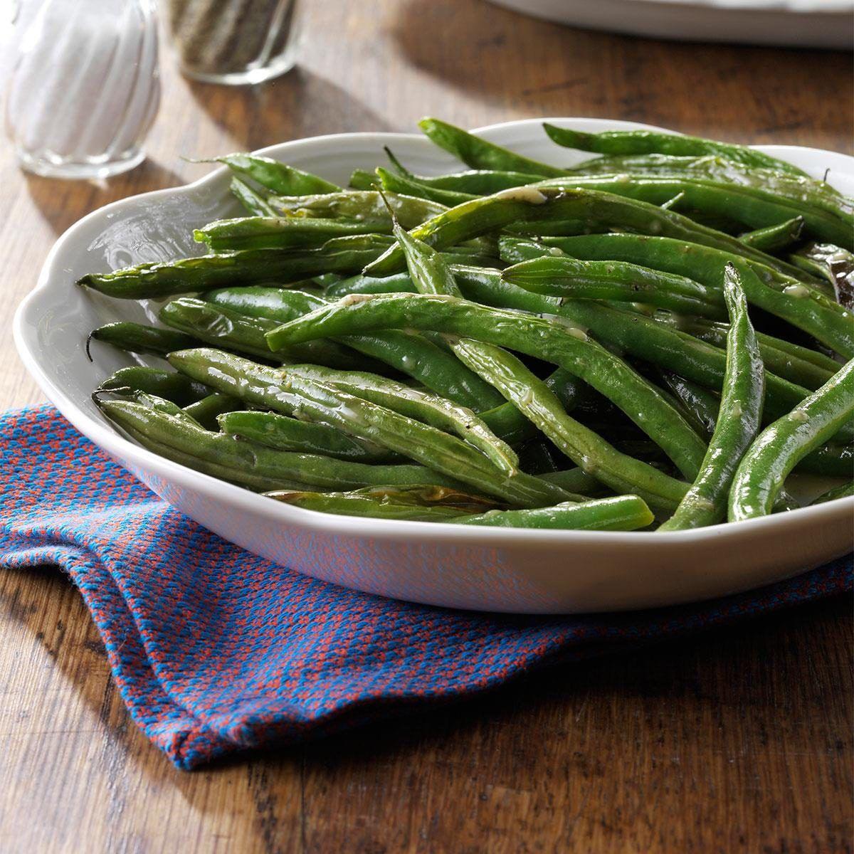 Roasted Green Bean Salad Recipe In 2020 Green Bean Salad Recipes Green Beans Bean Salad Recipes