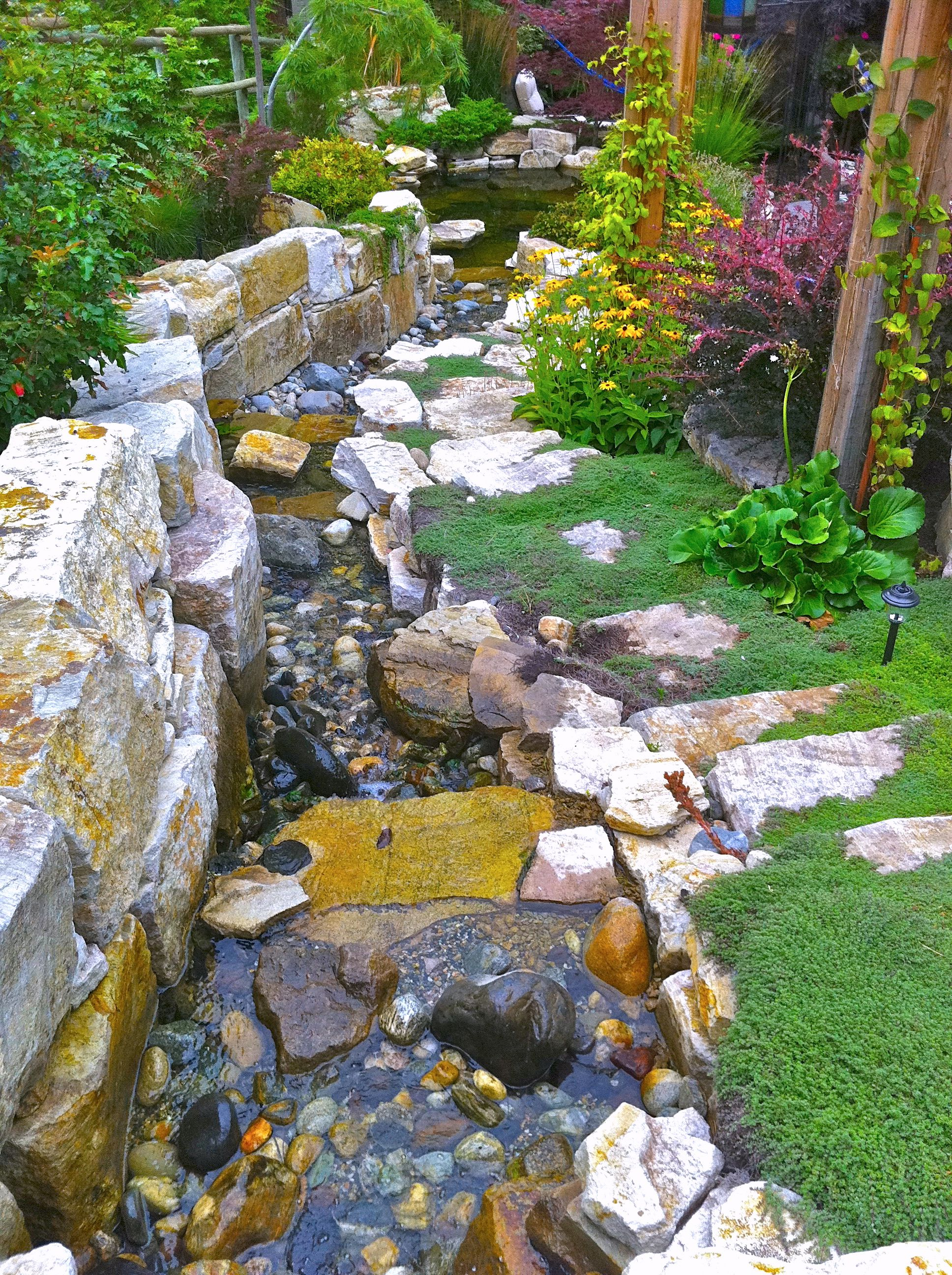 biotic  naturalstone  waterfeature  with images