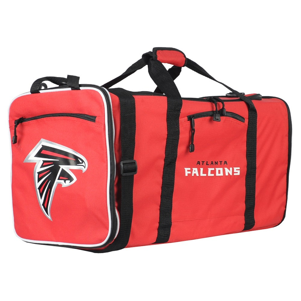 NFL Atlanta Falcons 28 Steal Duffle Bag - Red  4c73ede60ac41