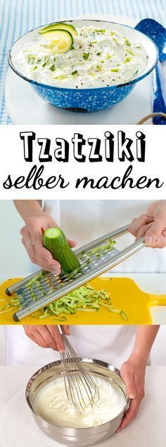 Tzatziki-Rezept zum Selbermachen| LECKER #meatfood