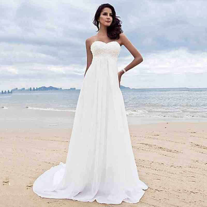 720daa68e08 Beach Wedding Dresses Under 100