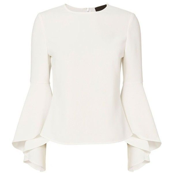 Intermix Women's Cameron Long Sleeve Blouse (345 CAD) ❤ liked on Polyvore  featuring tops
