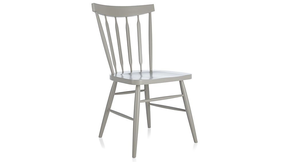 Willa Dove Wood Dining Chair Also Comes In White But Both Are