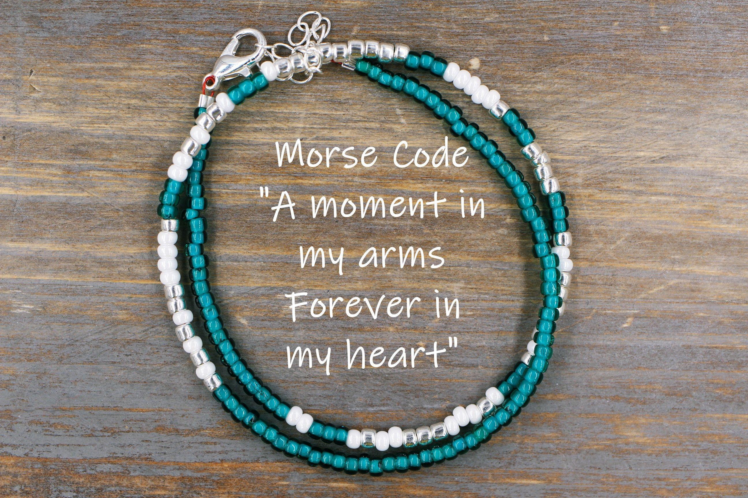 Memorial bracelet loss of husband jewelry sympathy gift