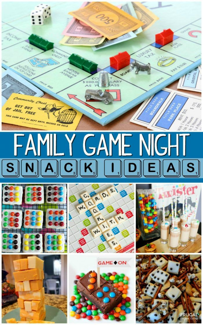 Family Game Night Snack Ideas Family Game Night Snacks Family