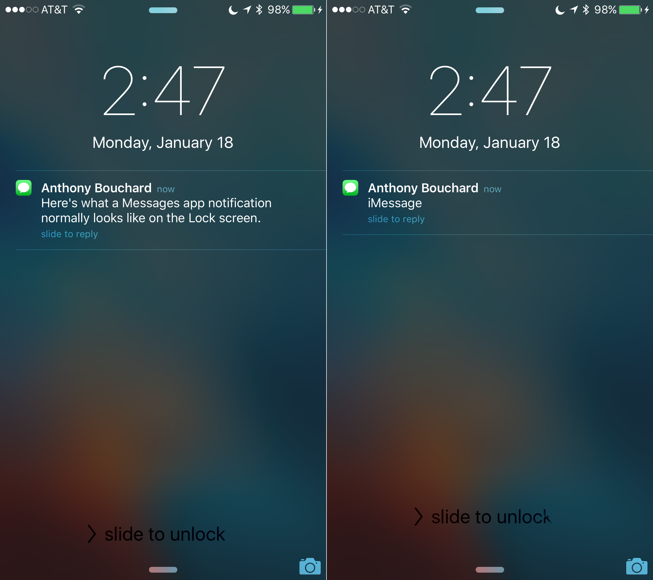change lock screen iphone how to turn message preview from lock screen on iphone 1390