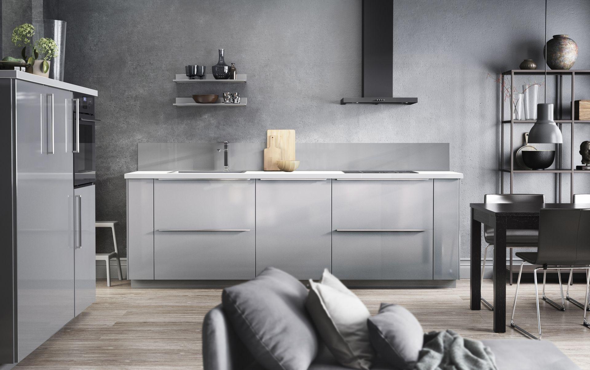 Metod Keuken Ikea : Metod keuken in elegant grijs ikea ikeanl keukens modern
