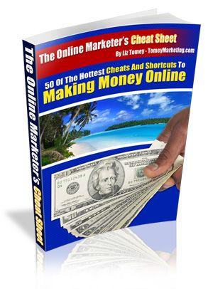Online Marketers Cheat Sheet