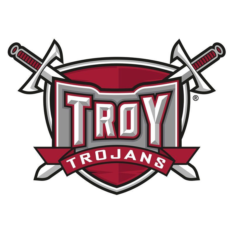 Ncaa Logo Wall Decal 61 61 Troy Trojans Troy University