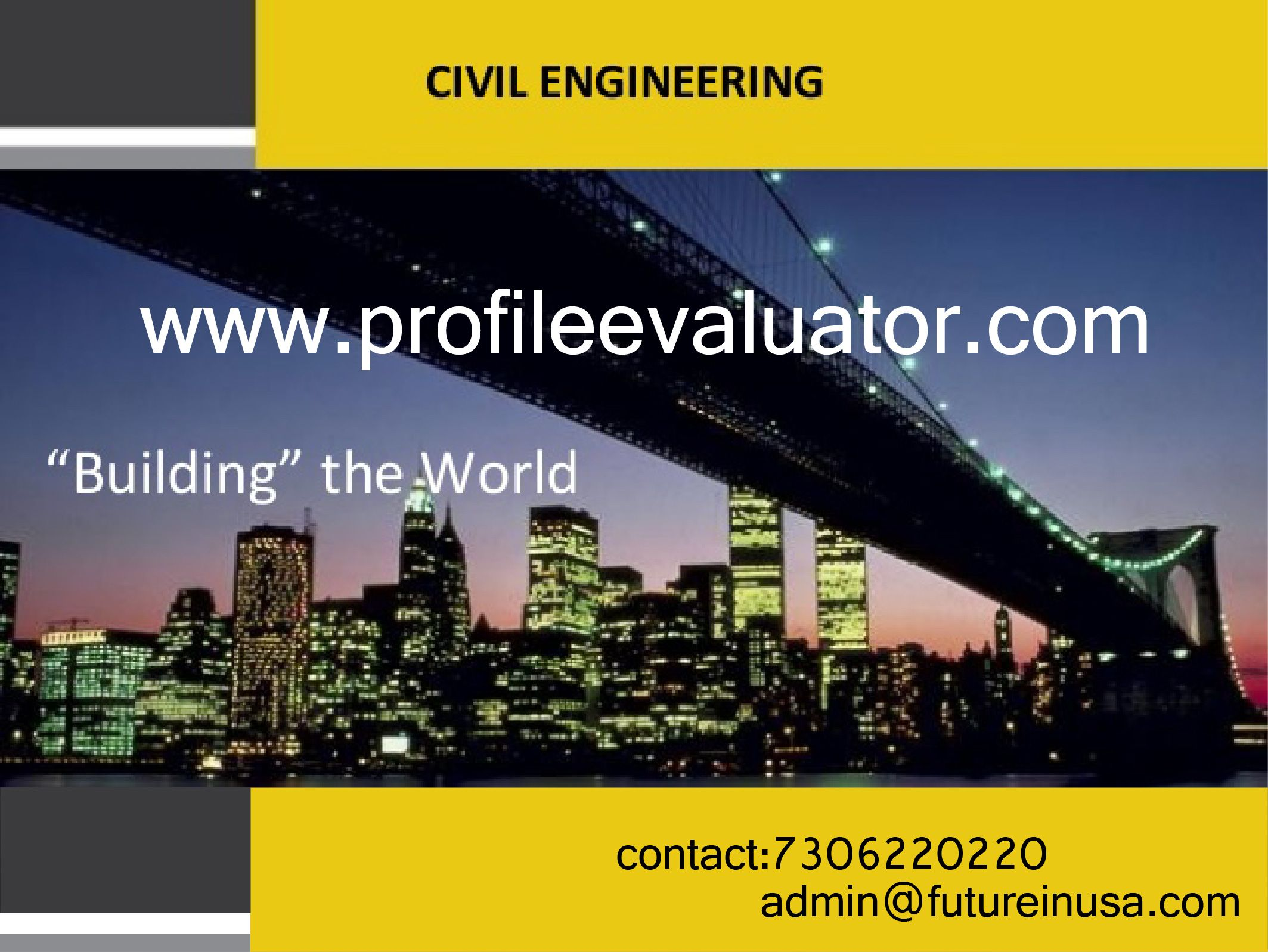 Study Ms In Civil Engineering And Construction At Universities Or