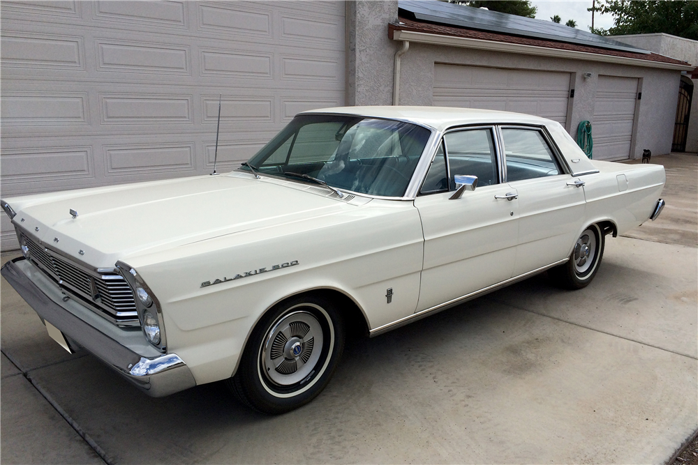 Sold* at Scottsdale 2016 - Lot #23 1965 FORD GALAXIE 500 4 ...  Sold* at Scotts...