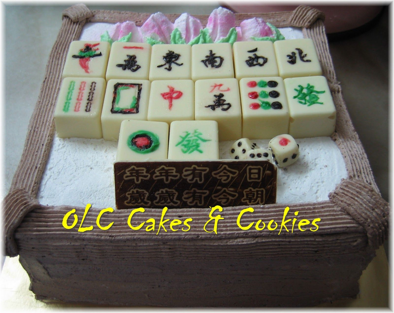 One Love Cafe Cakes Cookies Mahjong Birthday Cake Mah Jongg
