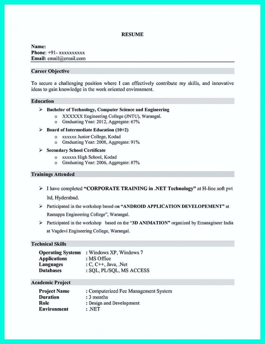 environmental science resume objective