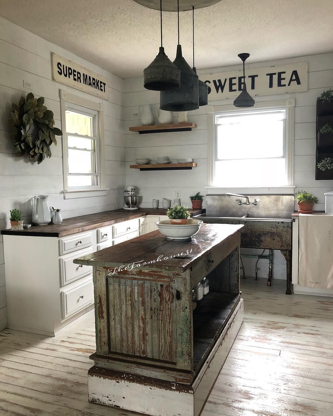 Love love love | ***Cozy Cottage Kitchens*** in 2019 ...