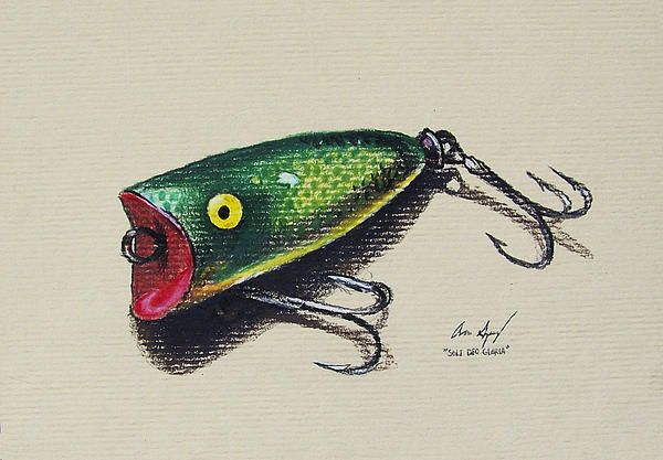 Green Lure By Aaron Spong In 2020 Color Pencil Sketch Color