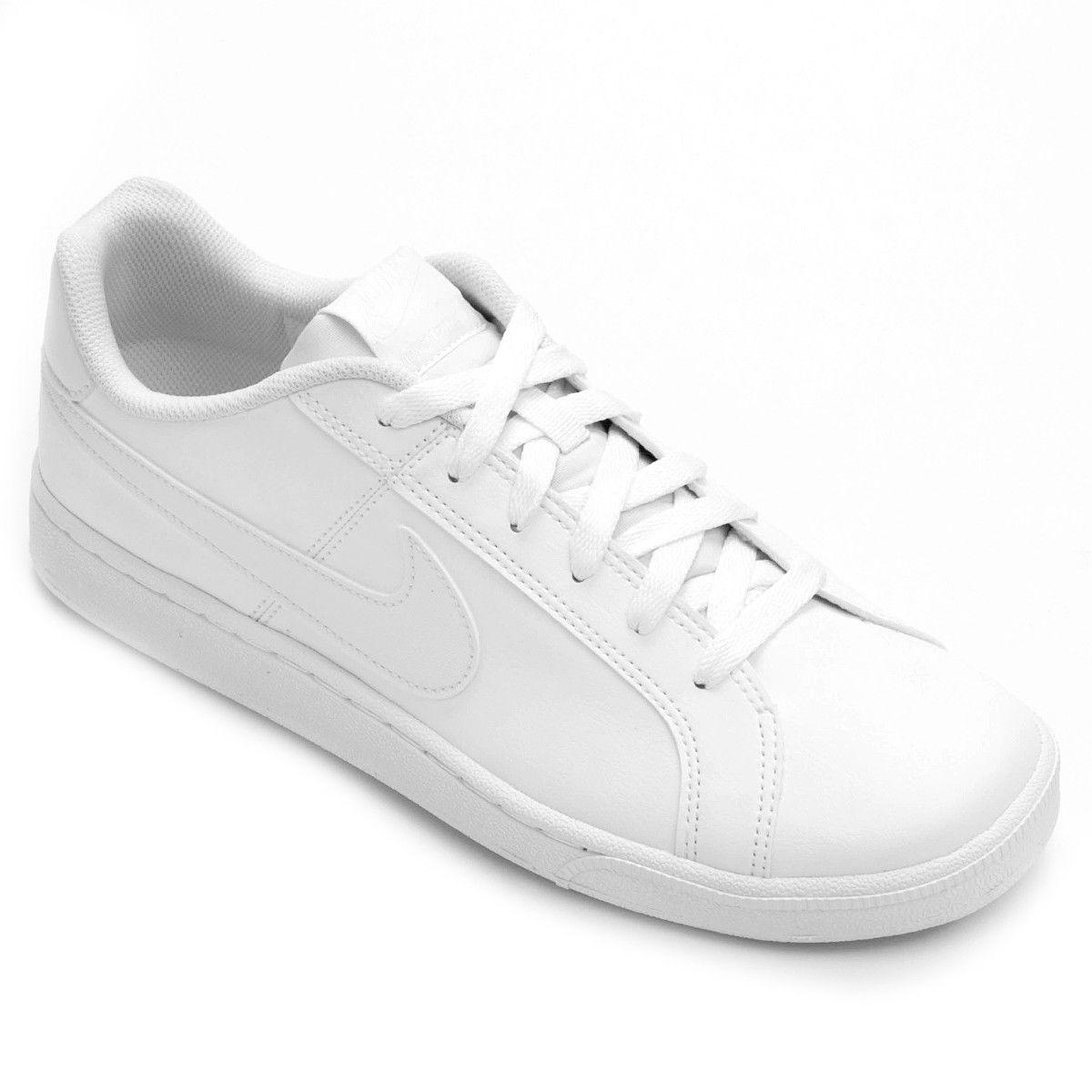 garantía limitada baratas para la venta gran descuento venta Tênis Couro Nike Court Royale Masculino - Branco | Tênis nike ...
