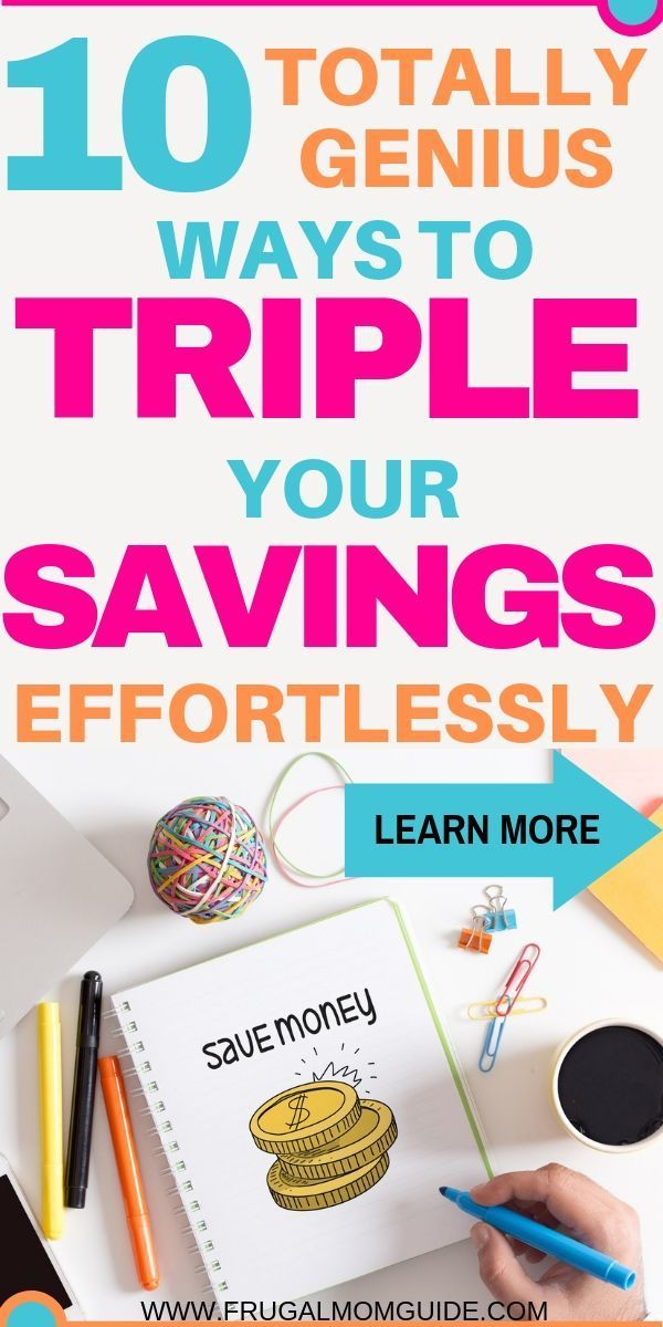 Saving Money - How to Save Money Fast - The Frugal Mom Guide