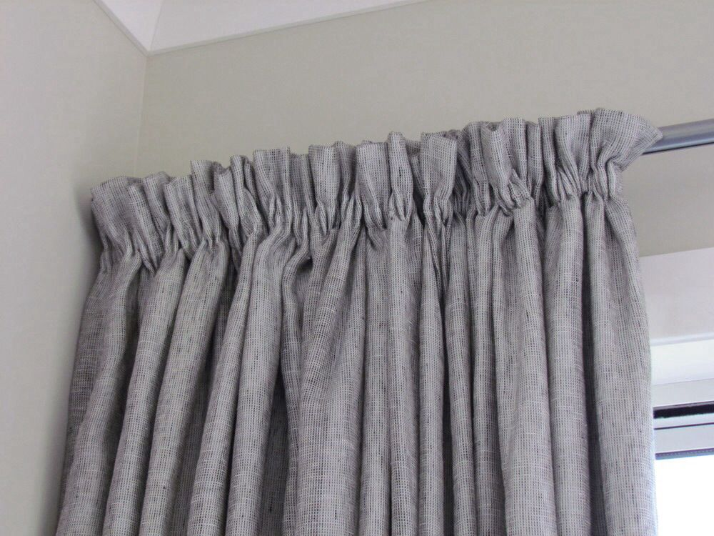 Informal Heading On Gathered Header Tape Curtains Curtain Styles Curtain Headings