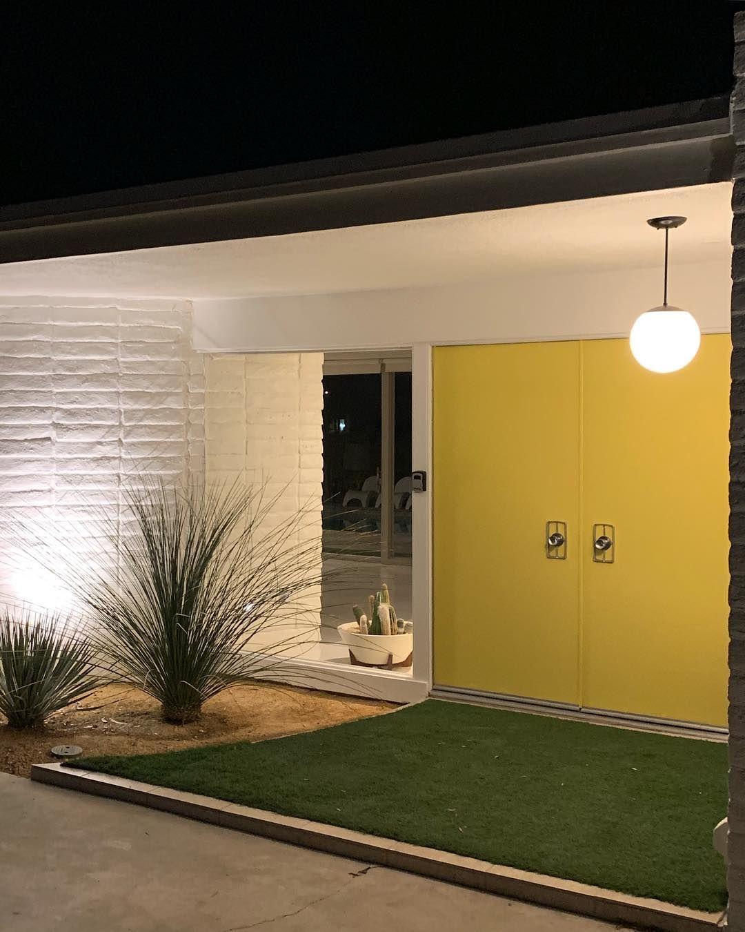 Mid Century Haven On Instagram Mid Century Exterior Mid Century Modern House Modern Architecture