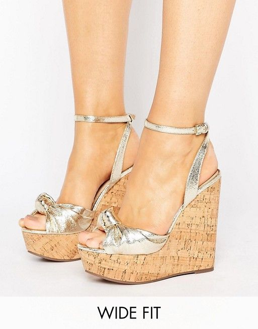 TRAFFIC JAM Wide Fit Wedges   Chaussures compensées, Chaussure et ... 6283774727d7