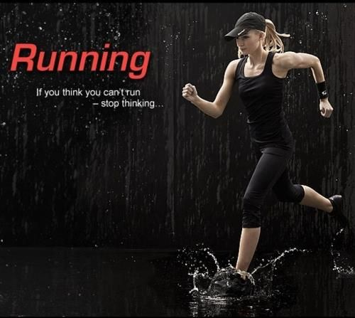 Don't think. #Run.