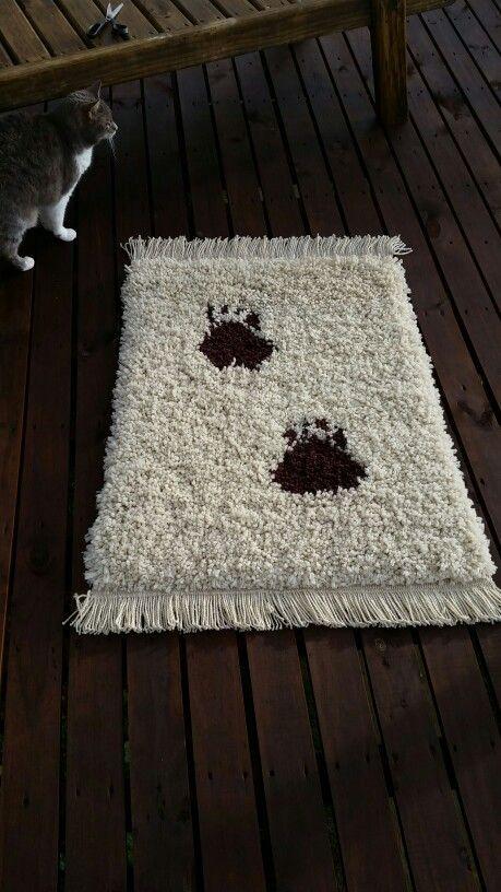 Alfombra tejida a mano en telar mapuche con lana natural de oveja alfombras - Alfombra oveja ...
