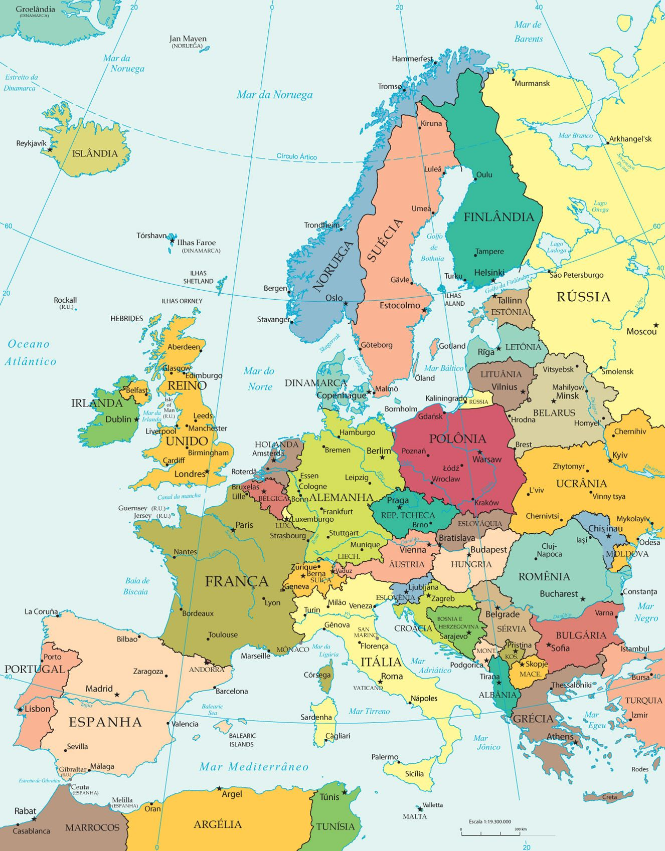 mapa Mapa Politico … | Haritalar | Pinte… mapa