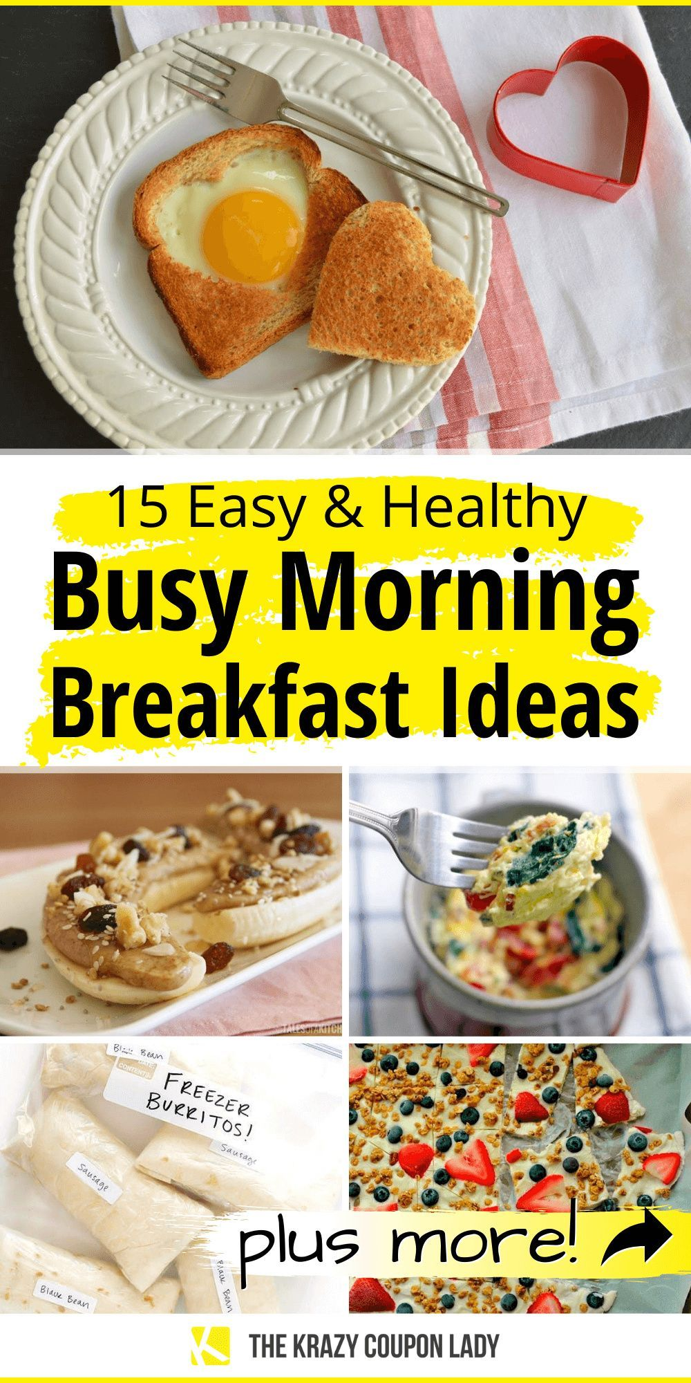 16 Easy And Healthy Breakfast Ideas For Back To School Fast Kids Breakfast Breakfast Recipes Easy Breakfast Fast